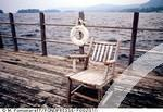 Chair on boat
